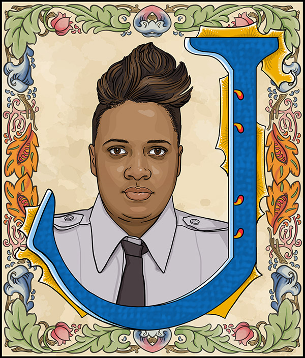 Joyce Craig-Lewis  - Firefighter for the City of Philadelphia.