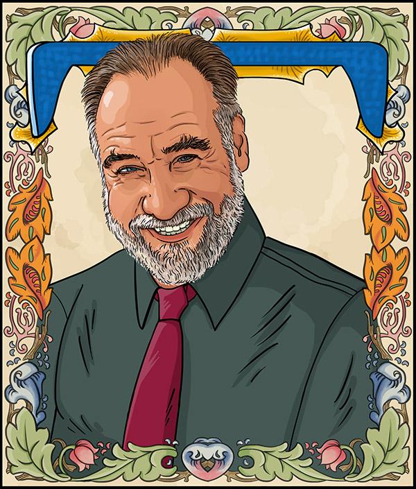 Tony Auth  - Pulitzer Prize winning editorial cartoonist.