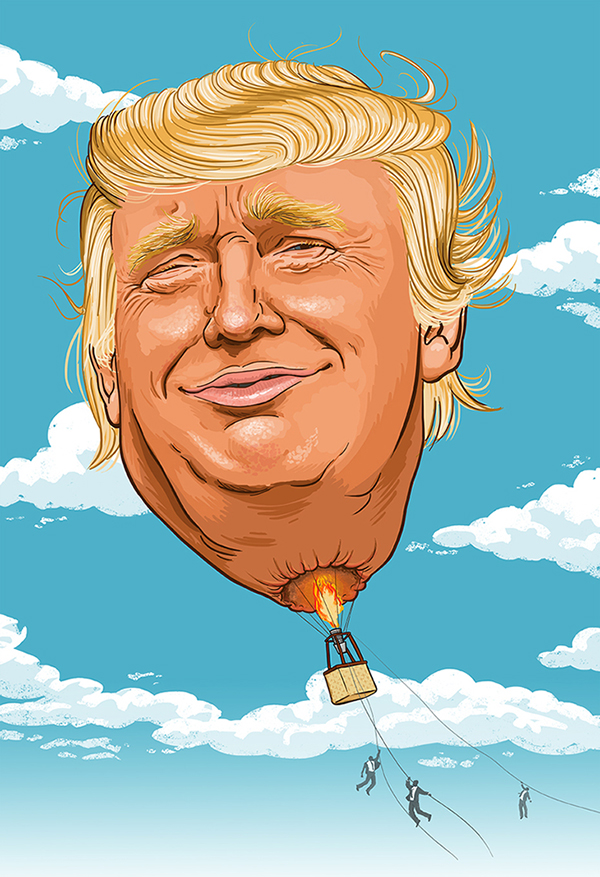 Trump, Trump and awaaaay!