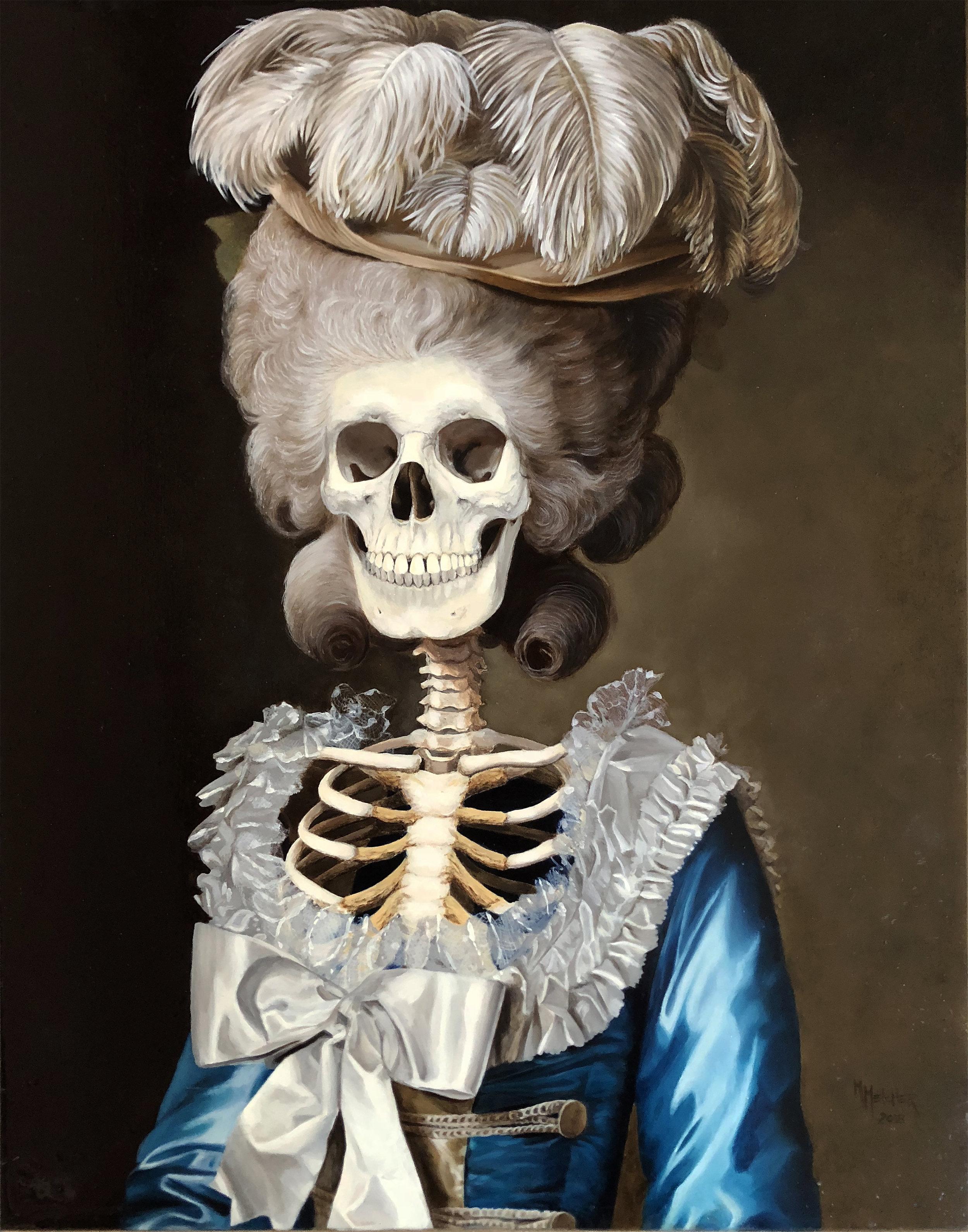 Madame de Bionville by Michele Melcher