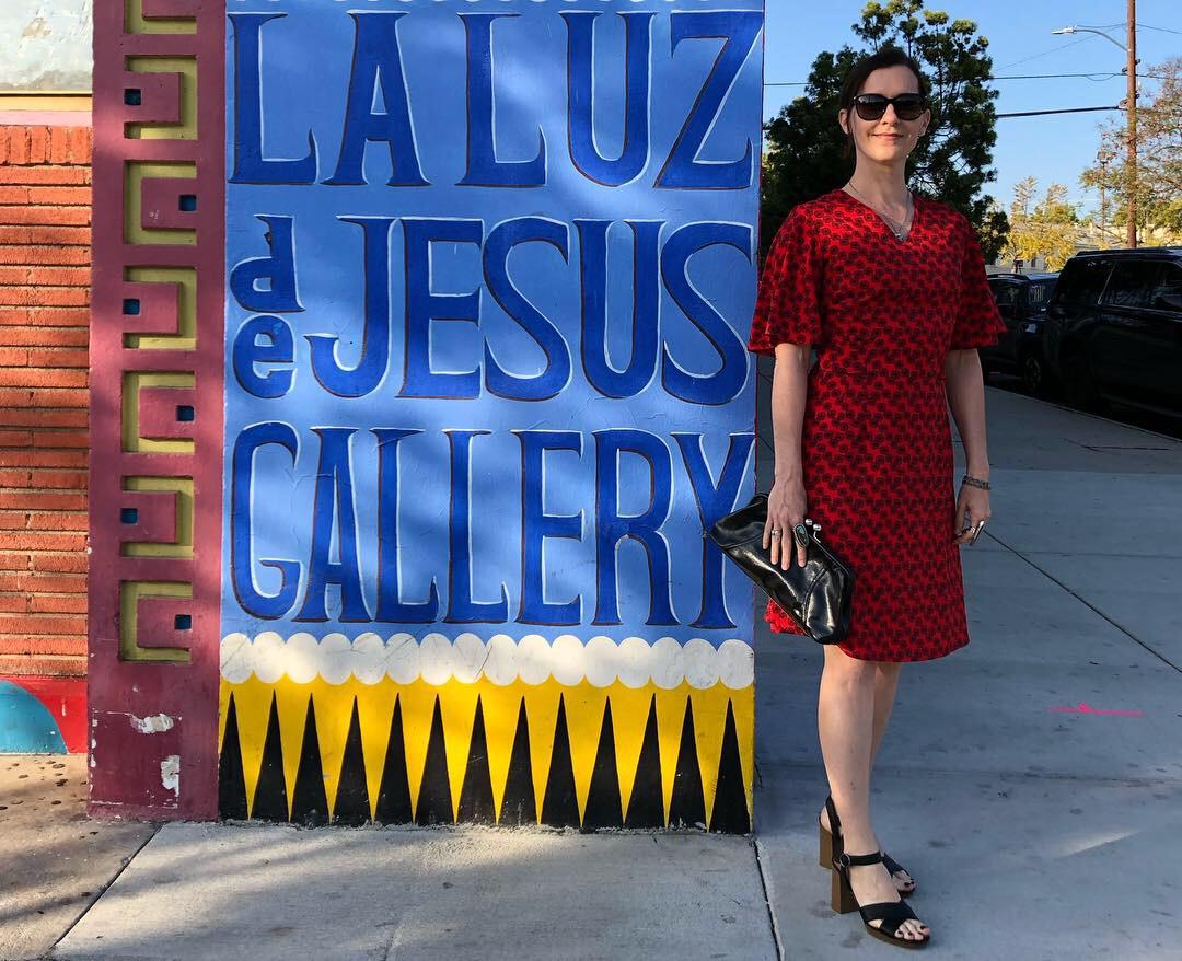 Opening night at  La Luz De Jesus