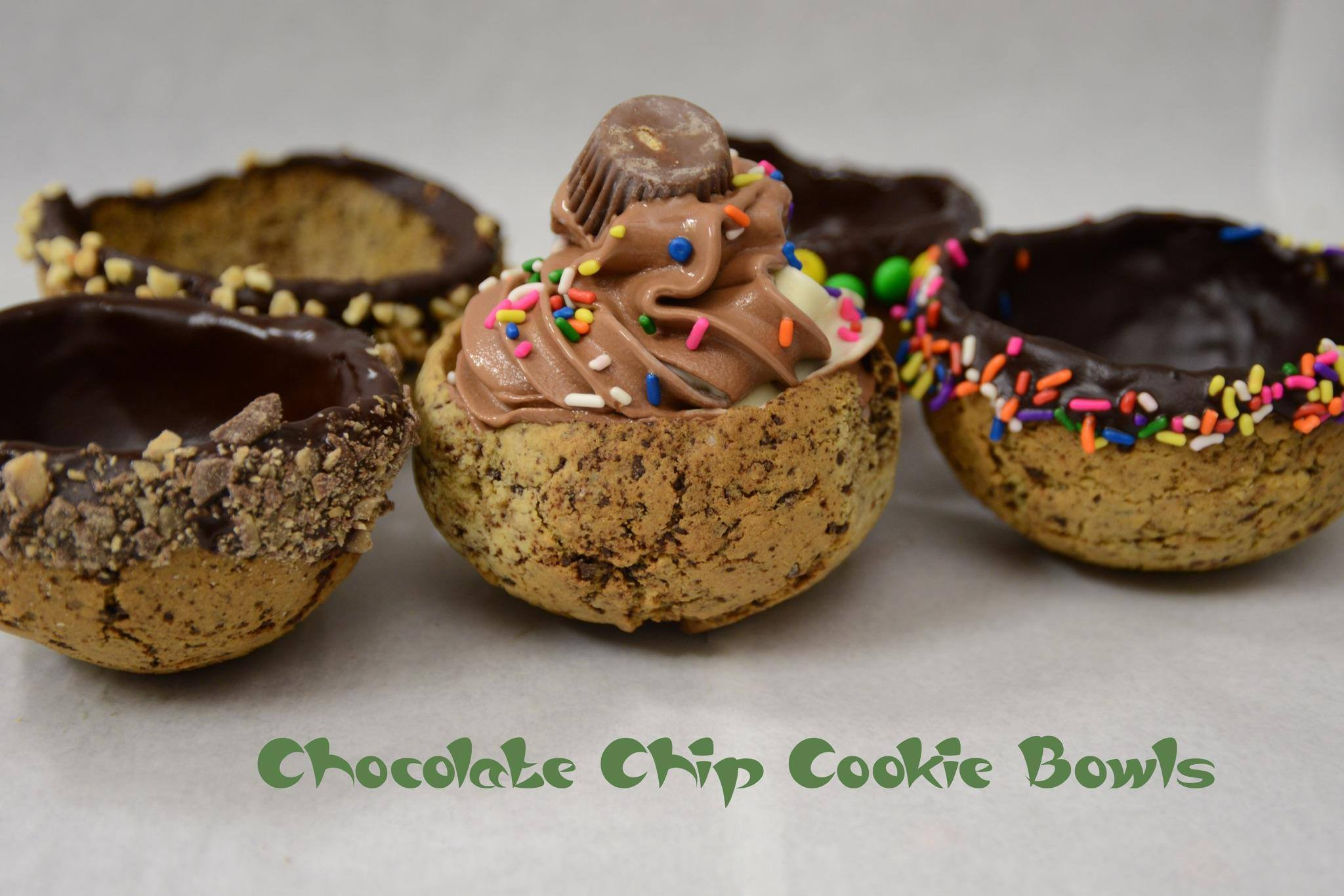 Skinny Piggy  Chocolate Chip Cookie Bowl