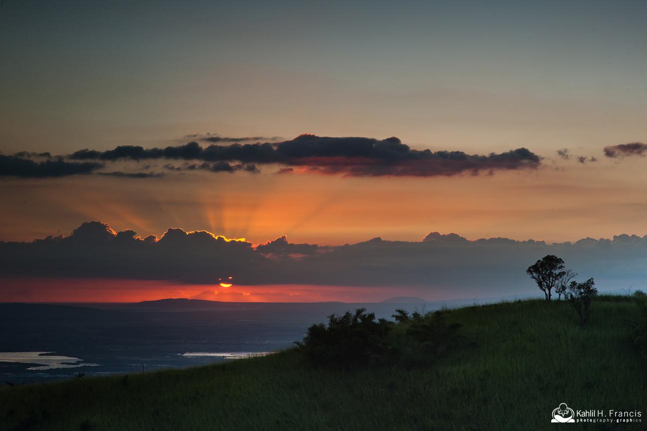 Sunset  - Jacks Hill