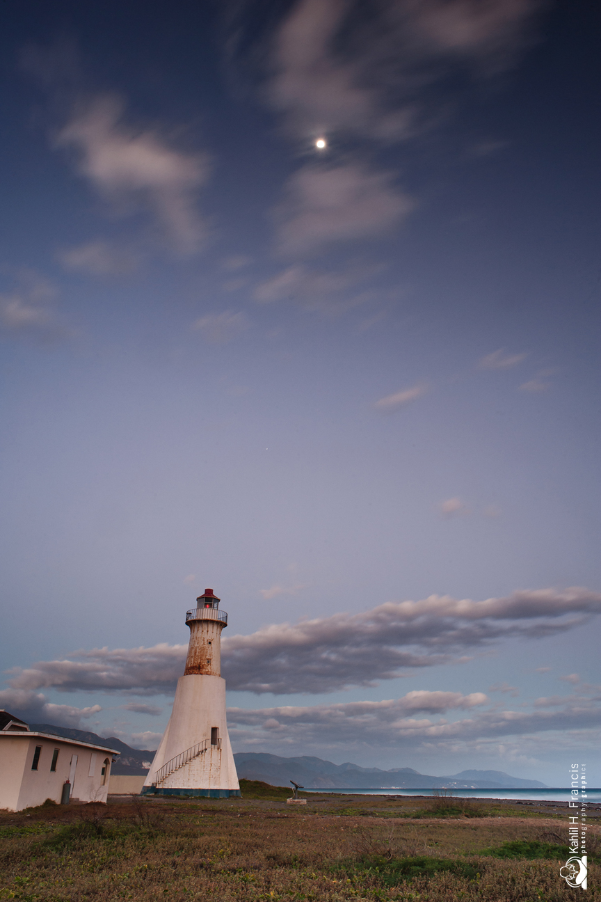 Lighthouse and the Moon