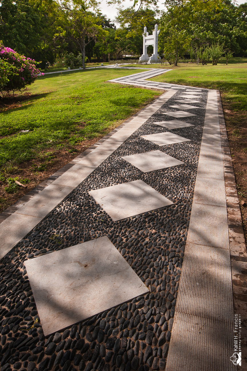 Pebbled Path - The Chinese Garden
