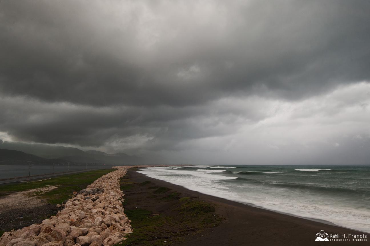 Hurricane Matthew Makes an Entrance - Palisadoes