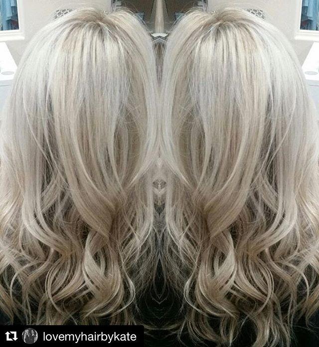 #Repost @lovemyhairbykate with @repostapp ・・・ Ice ice baby! I f@%*king love BLONDE! #nofilter #blonde #bombshell #blondeshell  #blondie #phoenix #phoenixstylist #hairstylist #behindthechair #phoenixsalon #camelback #salonstudio #hair #highlight #schwarzkopf #olaplex #blondme @olaplex @schwarzkopfusa @behindthechair_com  @lovemyhairbykate