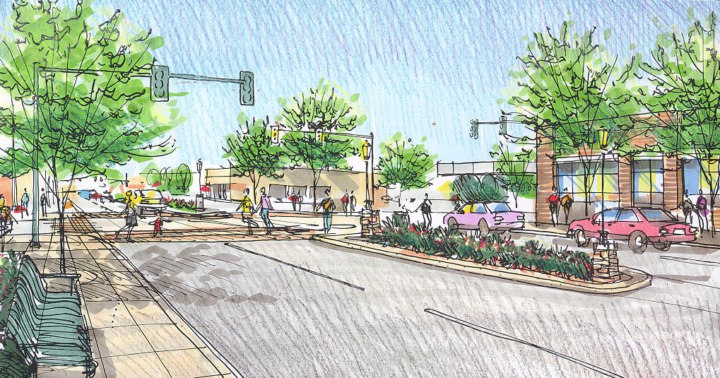 Pedestrian Intersection at Littler & Second.jpg
