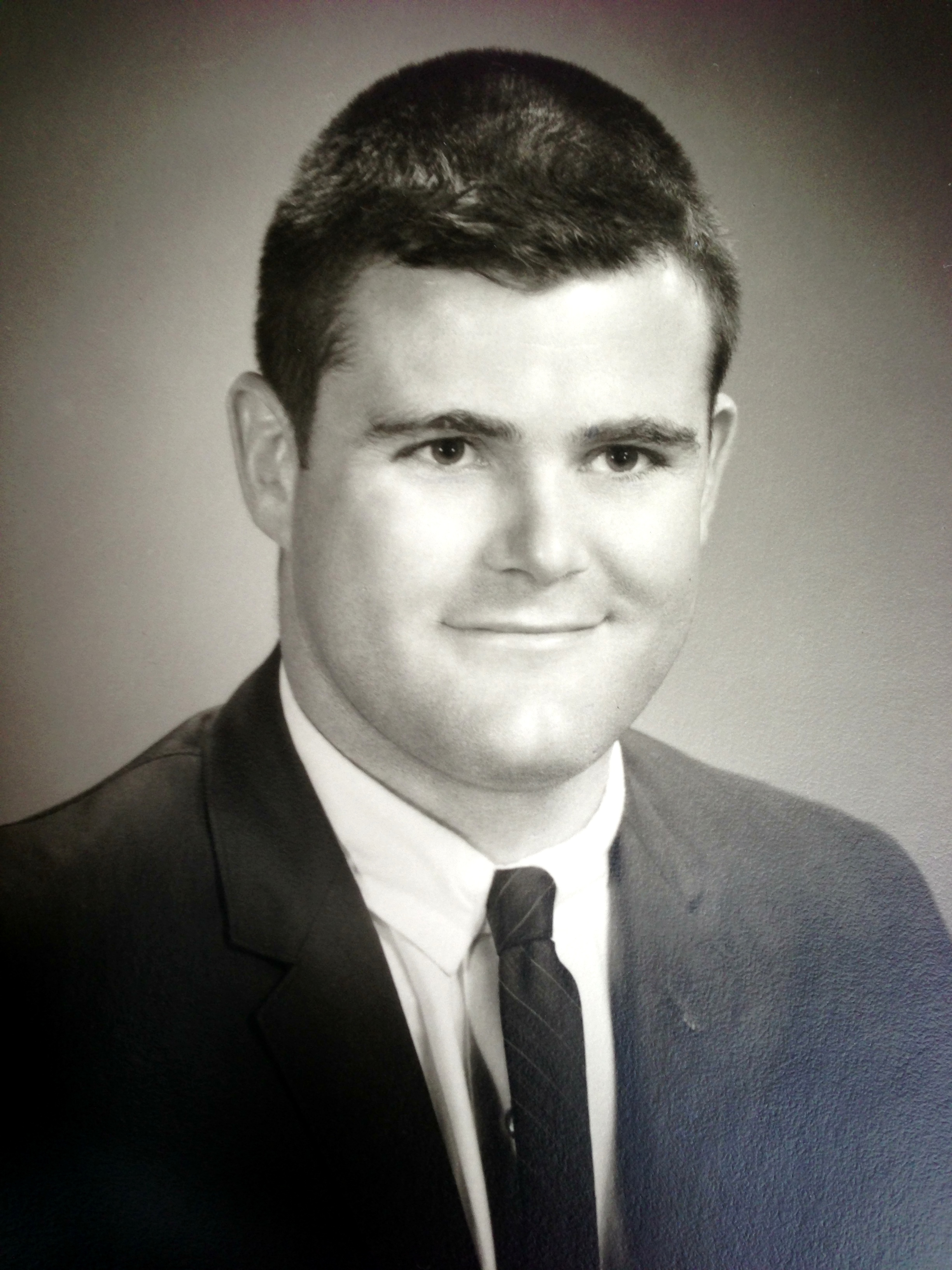 Ted Ludwig, Young Medical Student. This was taken around 1963 0r '64.