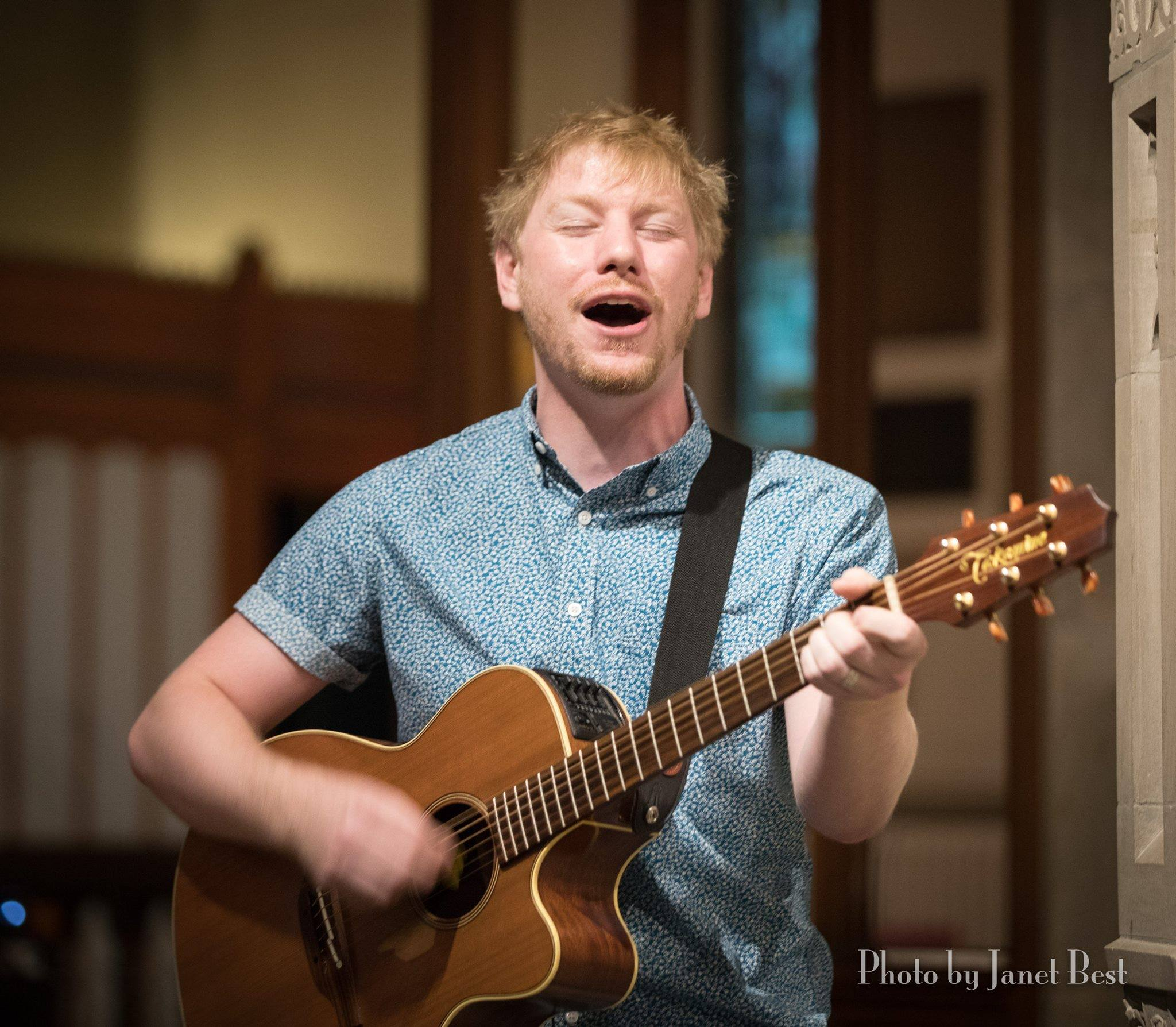 Zack Ingles, Bishop's Confirmation Day Musician and Worship Leader