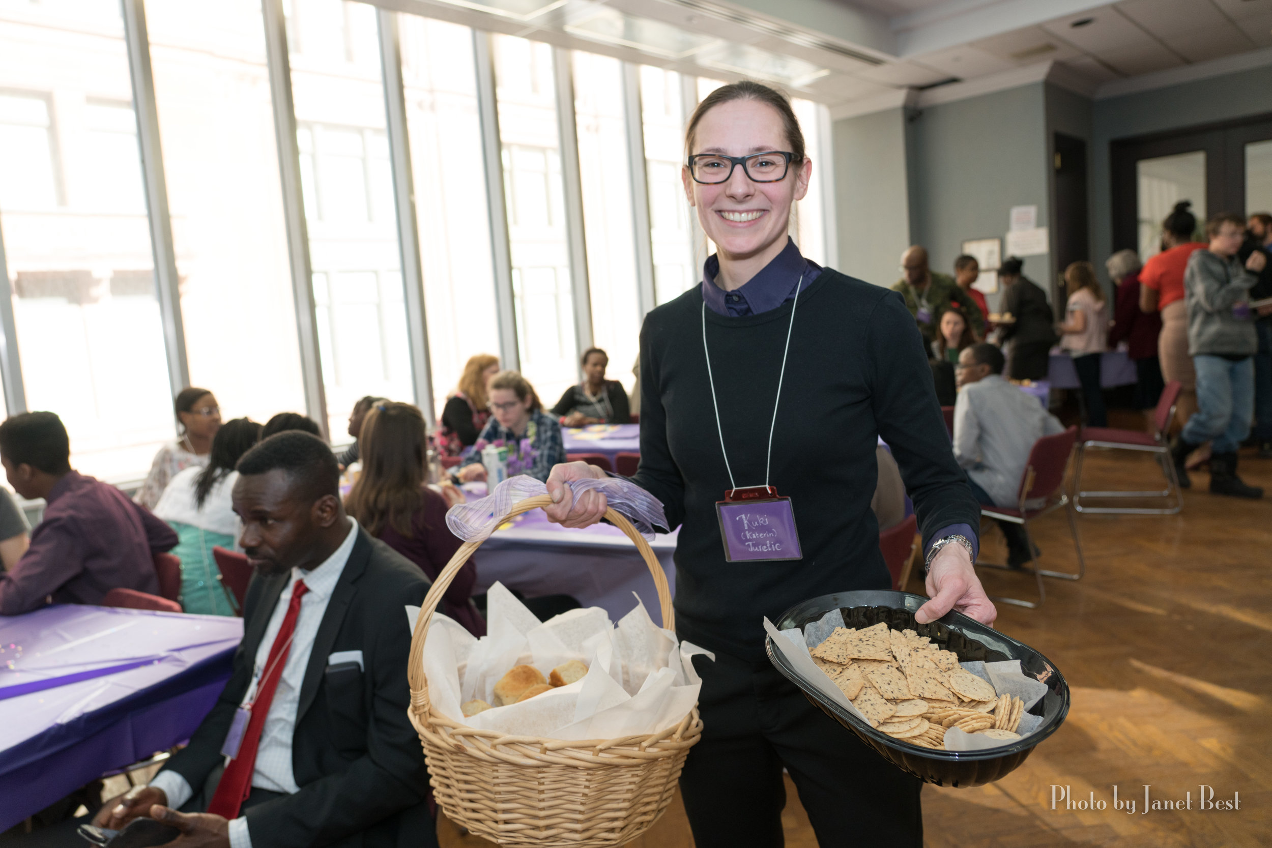 Kuki (Katerin Juretic) demonstrates the true meaning of hospitality