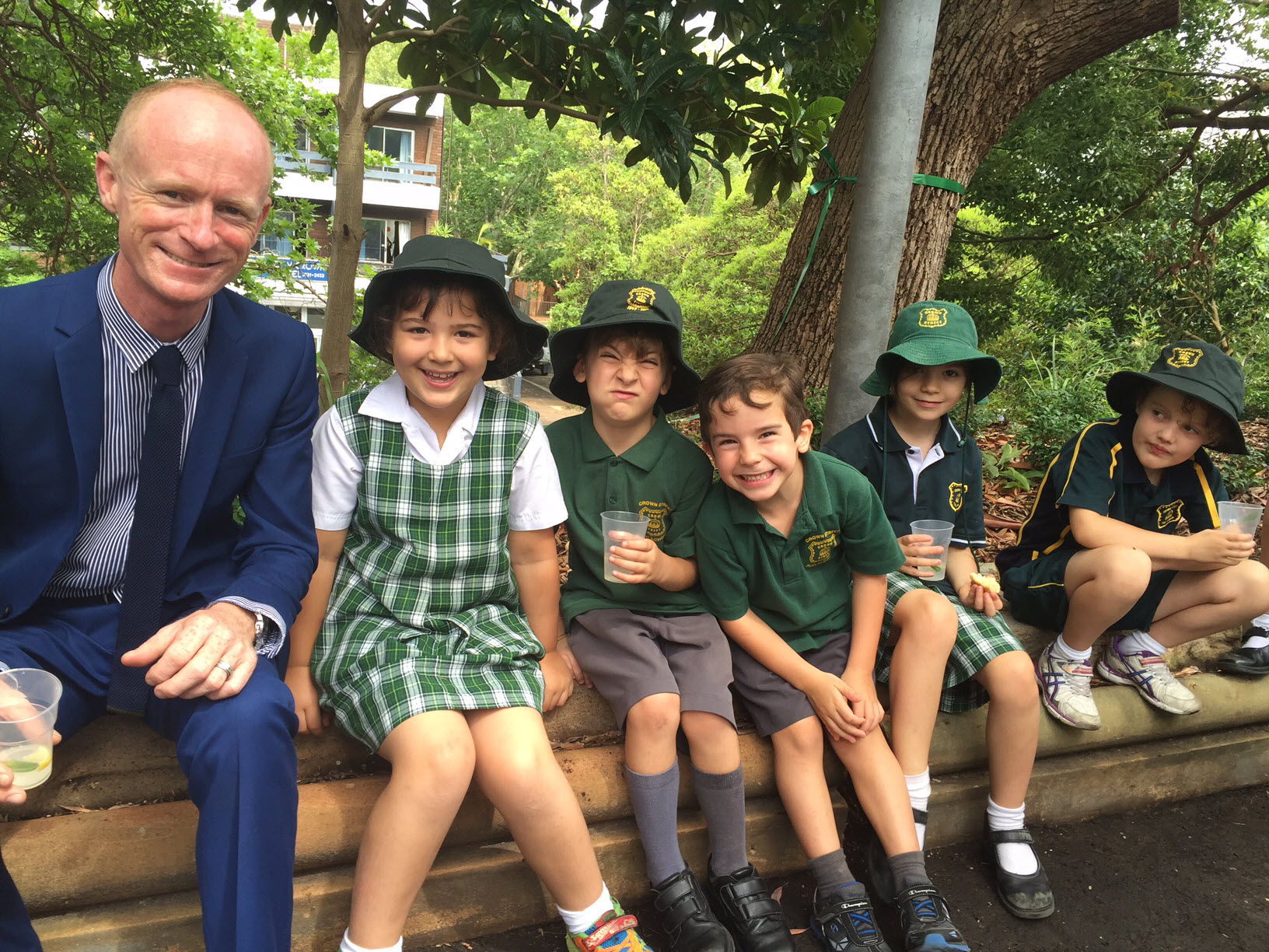 In 2015 we installed a beautiful new garden at the front of the school, funded by a City of Sydney Green Matching Grant. See our    LAUNCH PHOTOS   ,    BEFORE & AFTER PICS    and    FIND OUT MORE