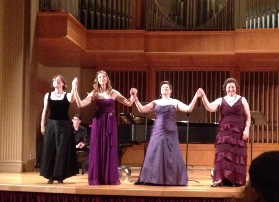 From left: Susan McDaniel, Sarah Maines, Natalie Gunn, and Erin G. McCarthy