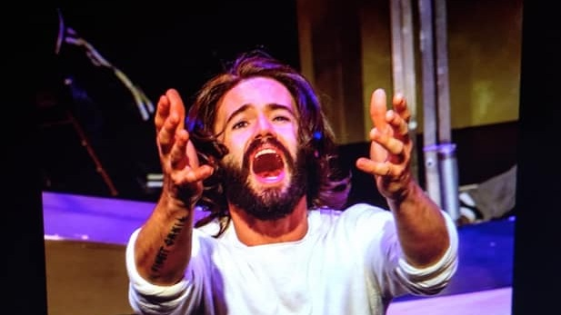 Morgan Mallory in the Stumptown Stages production of Jesus Christ Superstar