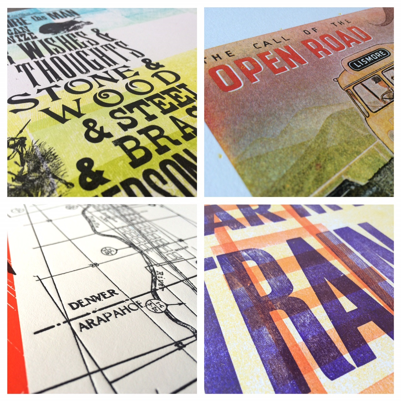 The works of 20 master letterpress printers