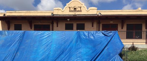 Construction is underway!