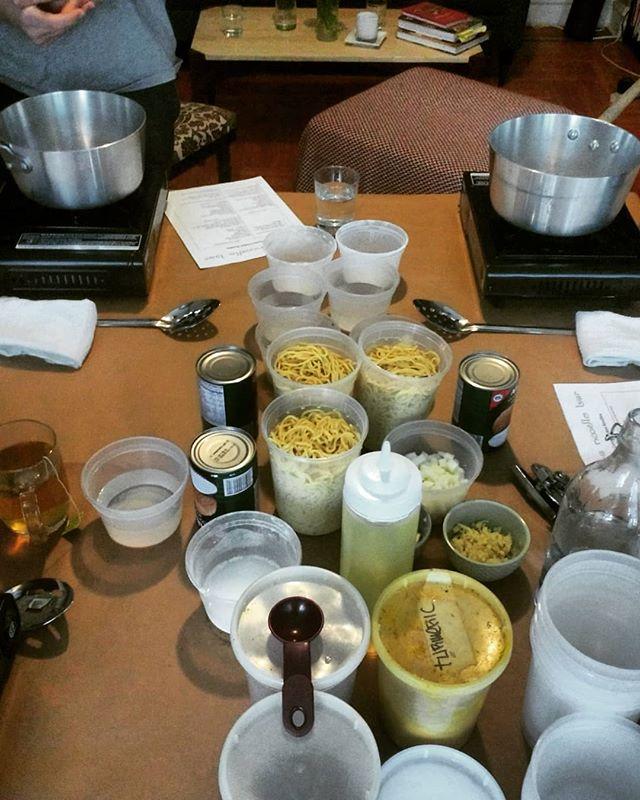 Another great cooking class!!! Thanks so much for coming out @megstemmler.  #eeeeeats #foodilysm #foodporn #foodie #instafood #instagood #forkyeah #newforkcity #eatingnyc #nomnom #burmesefood #foodandwine #saveur #burmanoodlebar #Brooklyn #nyc#cookingclass #cookmoreoften
