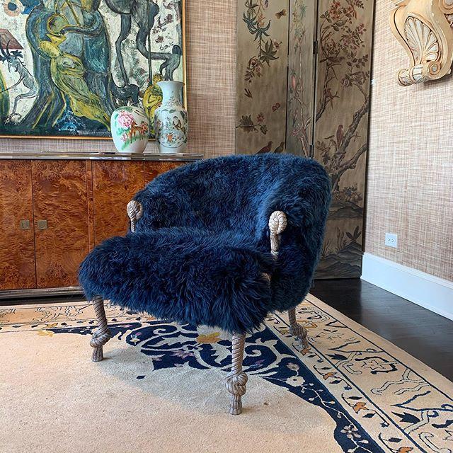 💙💙 available @moxiehouston #upholstery #customupholstery #bespoke #furniture #customfurniture #interior #antiques #homedecor #houston #interiordesign #picoftheday #photooftheday #instalove