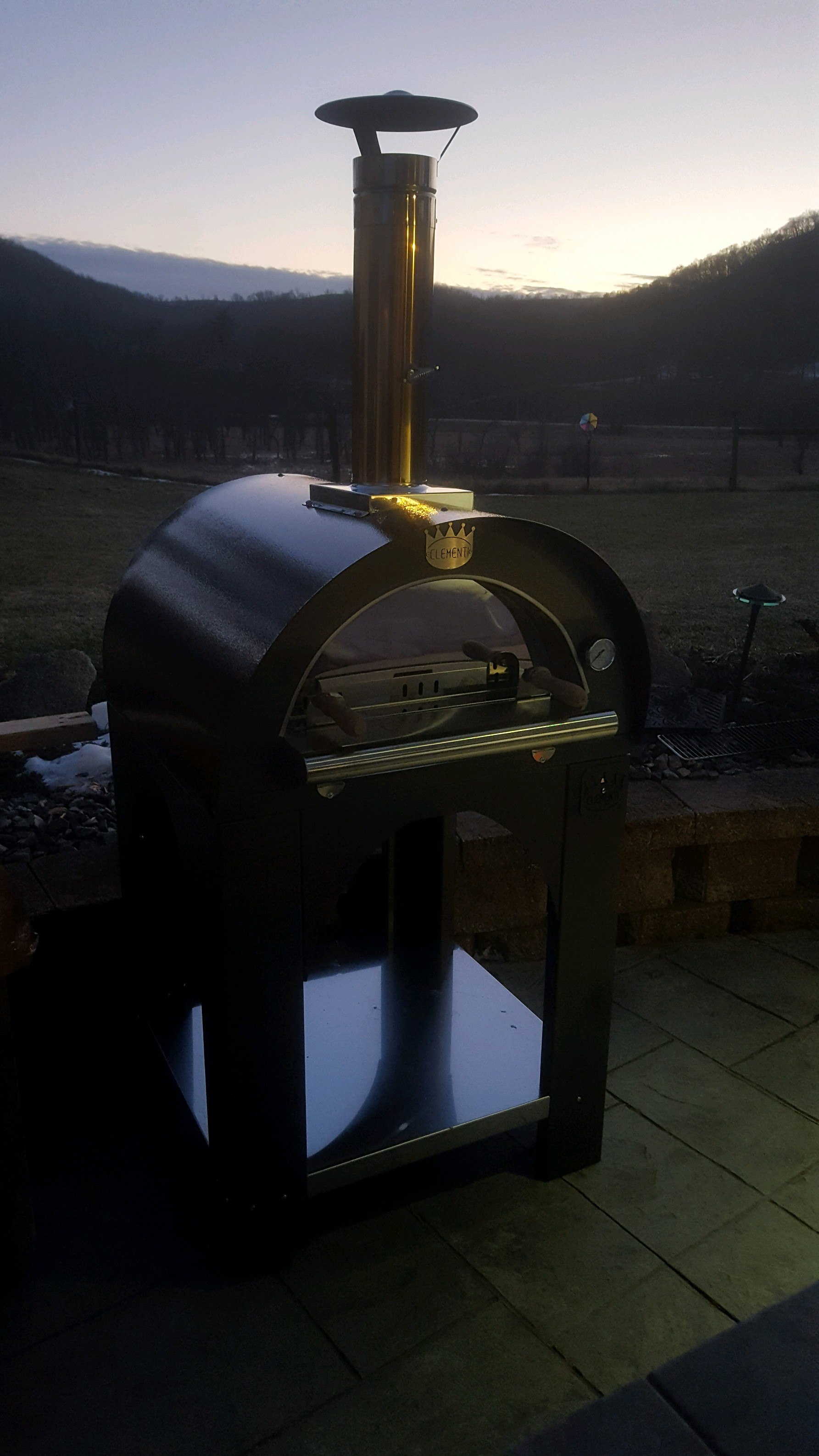 Clementi Wood Fired Pizza Oven from Italy - Pizza never tasted so good.