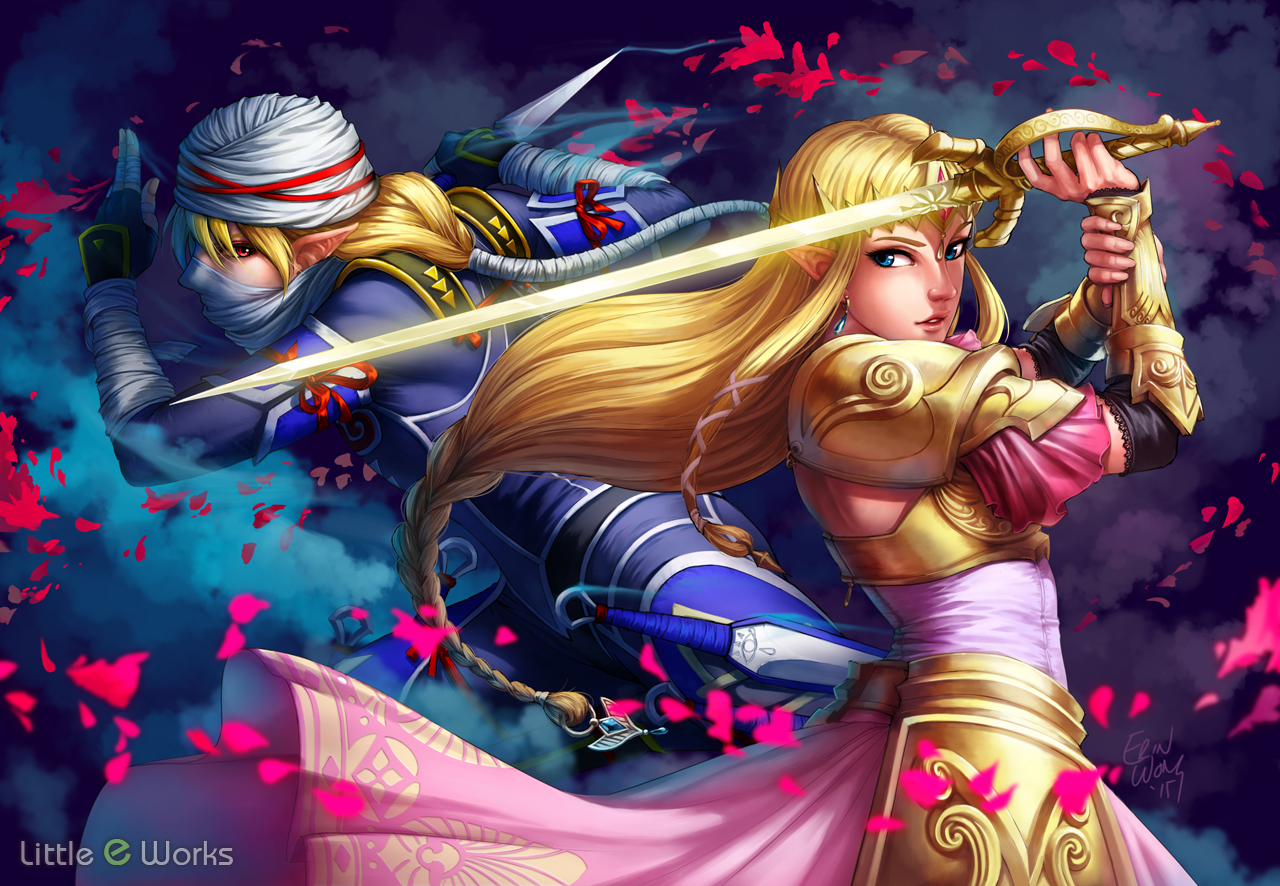 Hyrule Warriors fan art