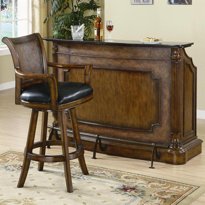Rich Wood Bar with Marble Top.jpg
