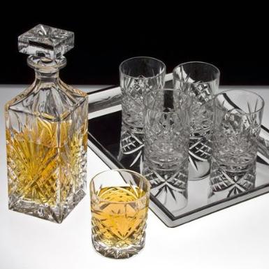 Godinger Bar Set With Tray.jpg