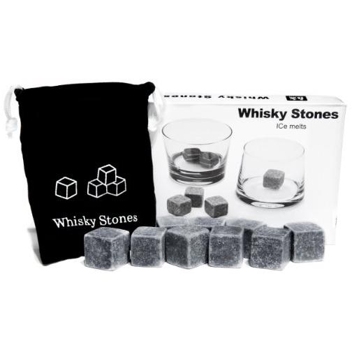 Whisky Stones Set of 9 Rounded Soapstone and Bag.jpg