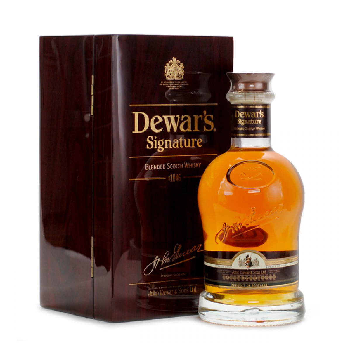 Dewars Signature Blended Scotch Whisky | WhiskeyTimes.com.jpg