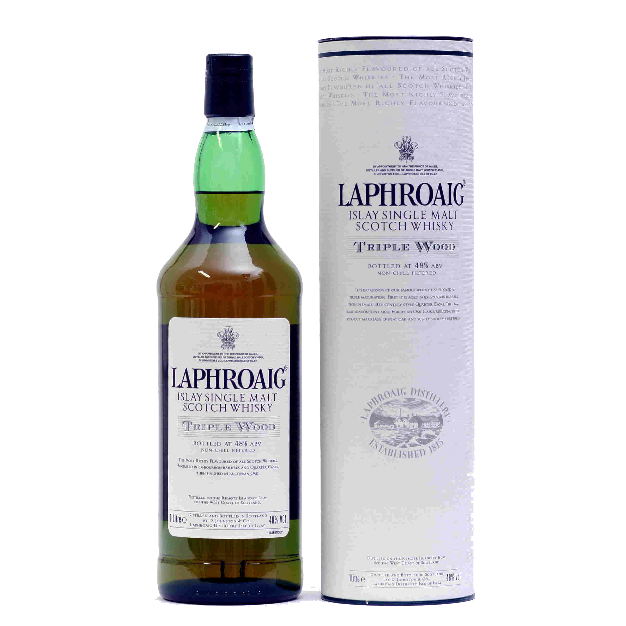 Laphroaig Triple Wood Malt Scotch Whisky | WhiskeyTimes.com.jpg