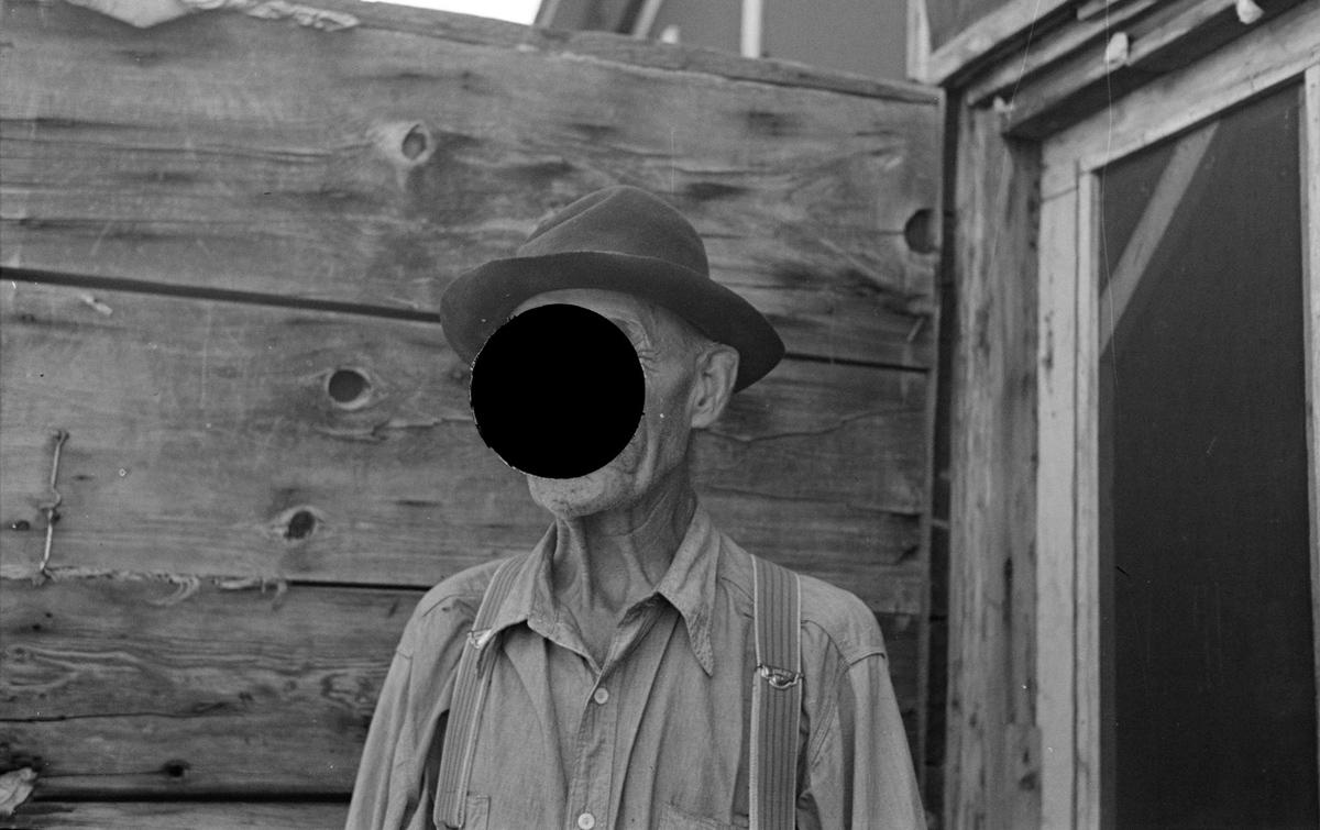 """Frenchy,"" caretaker of the old lumber camp, Gemmel, Minnesota. August, 1937"