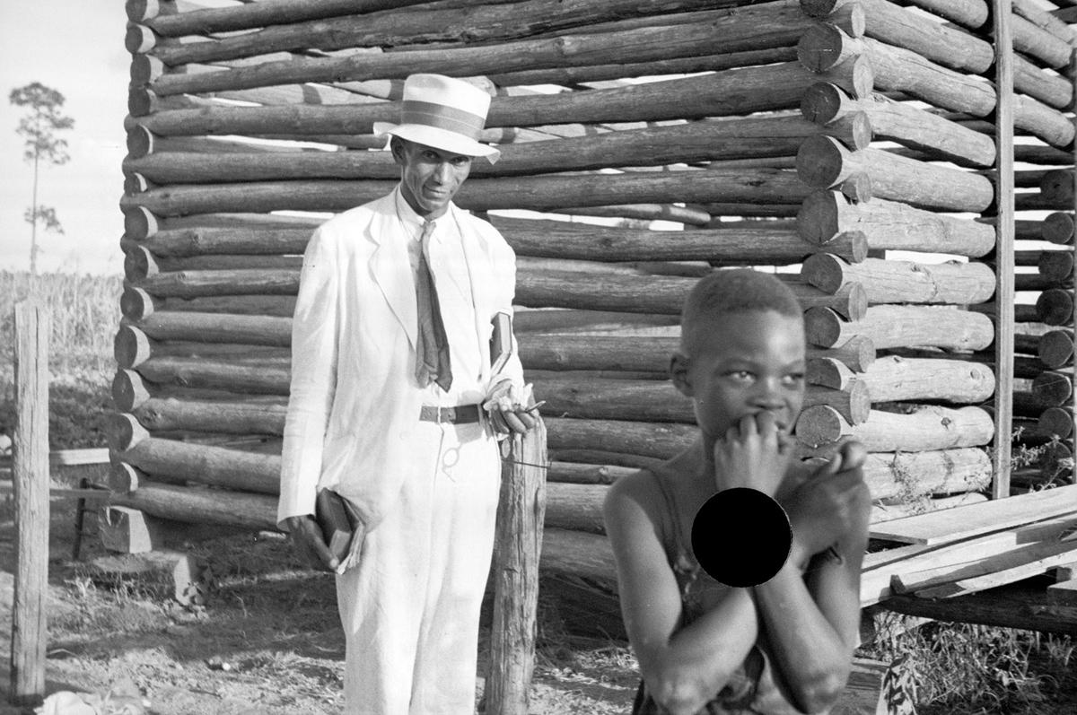 Untitled photo, possibly related to narby photo captioned: Negro rehabilitation client, Tangipahoa Parish, Louisiana. September, 1935.