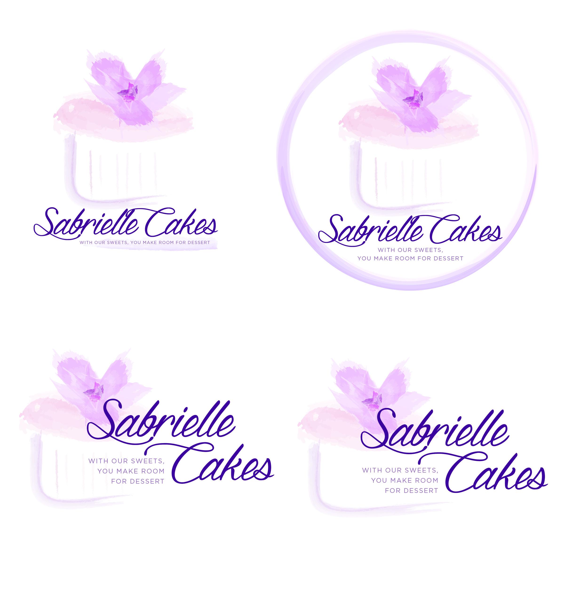 sabrielle-cakes-logo-brand-design