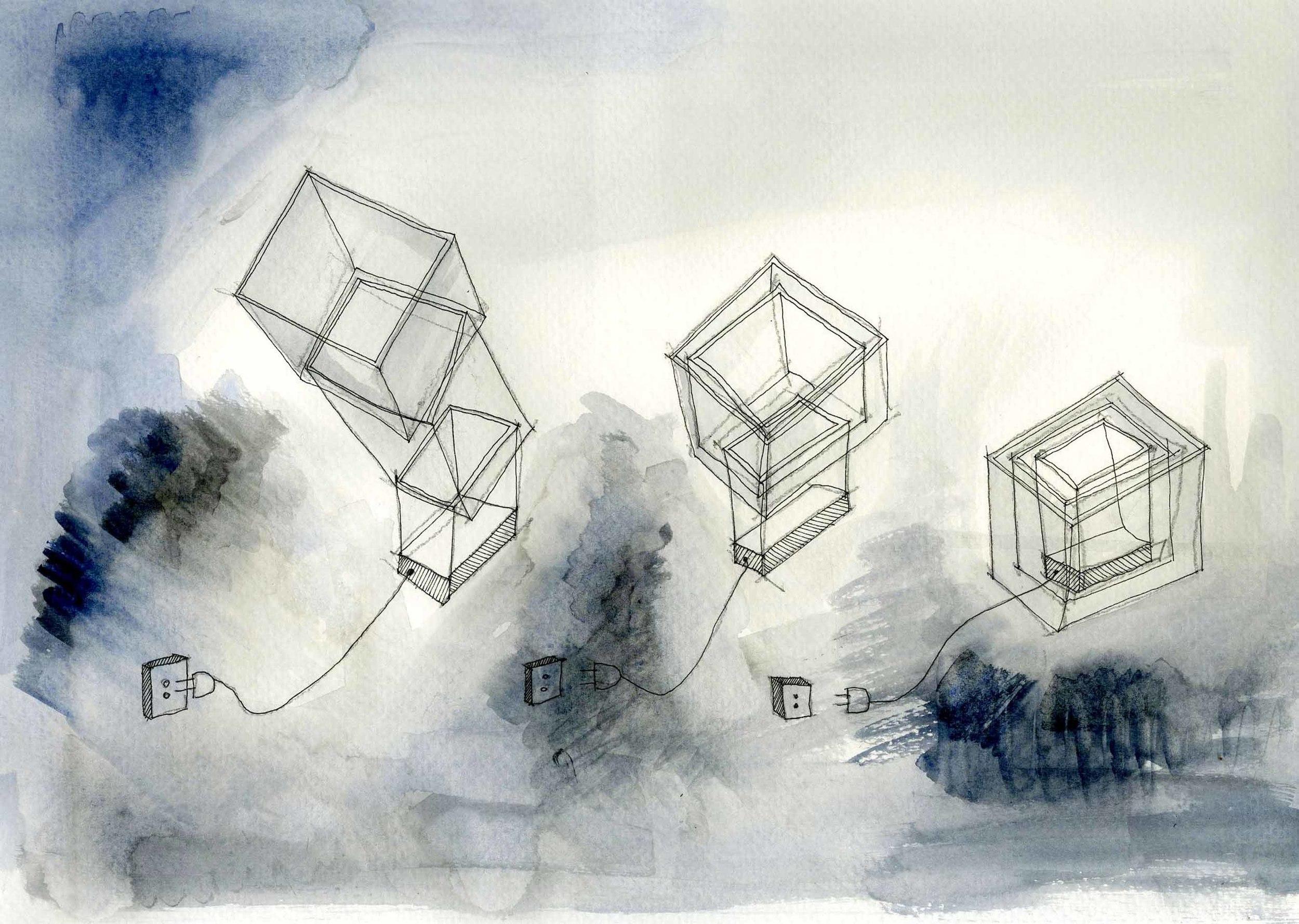 yuliya savelyeva luminaire 02 sketch