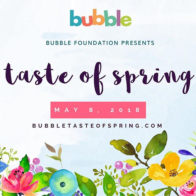 What does spring taste like?! Join us for one of a kind food experience featuring tastings from prominent NYC chefs @refineryrooftop to find out! #bubblefoundation #bubbletasteofspring #deseoevents  For tickets visit: www.bubbletasteofspring.com