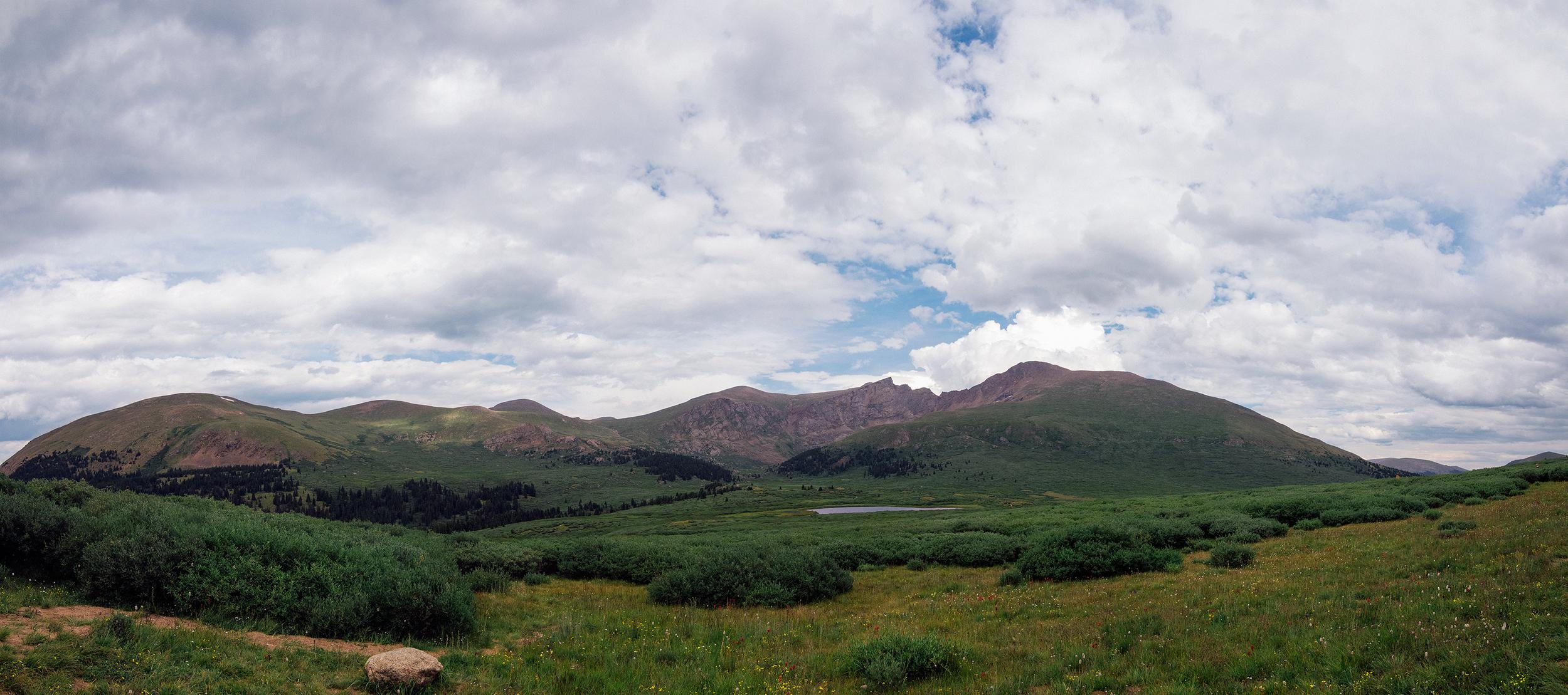 Mount Bierstadt Panorama