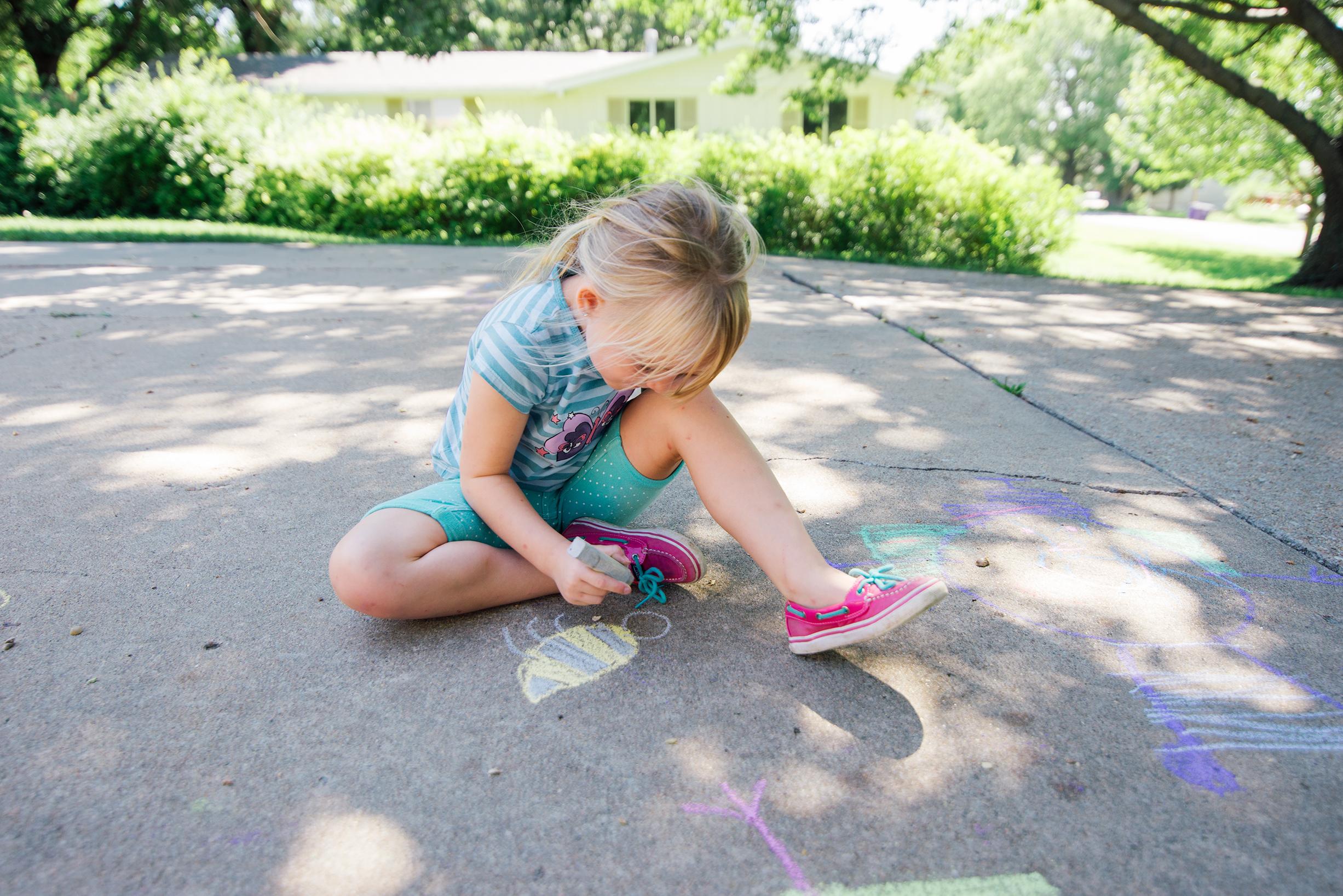 Sidewalk Chalk Play