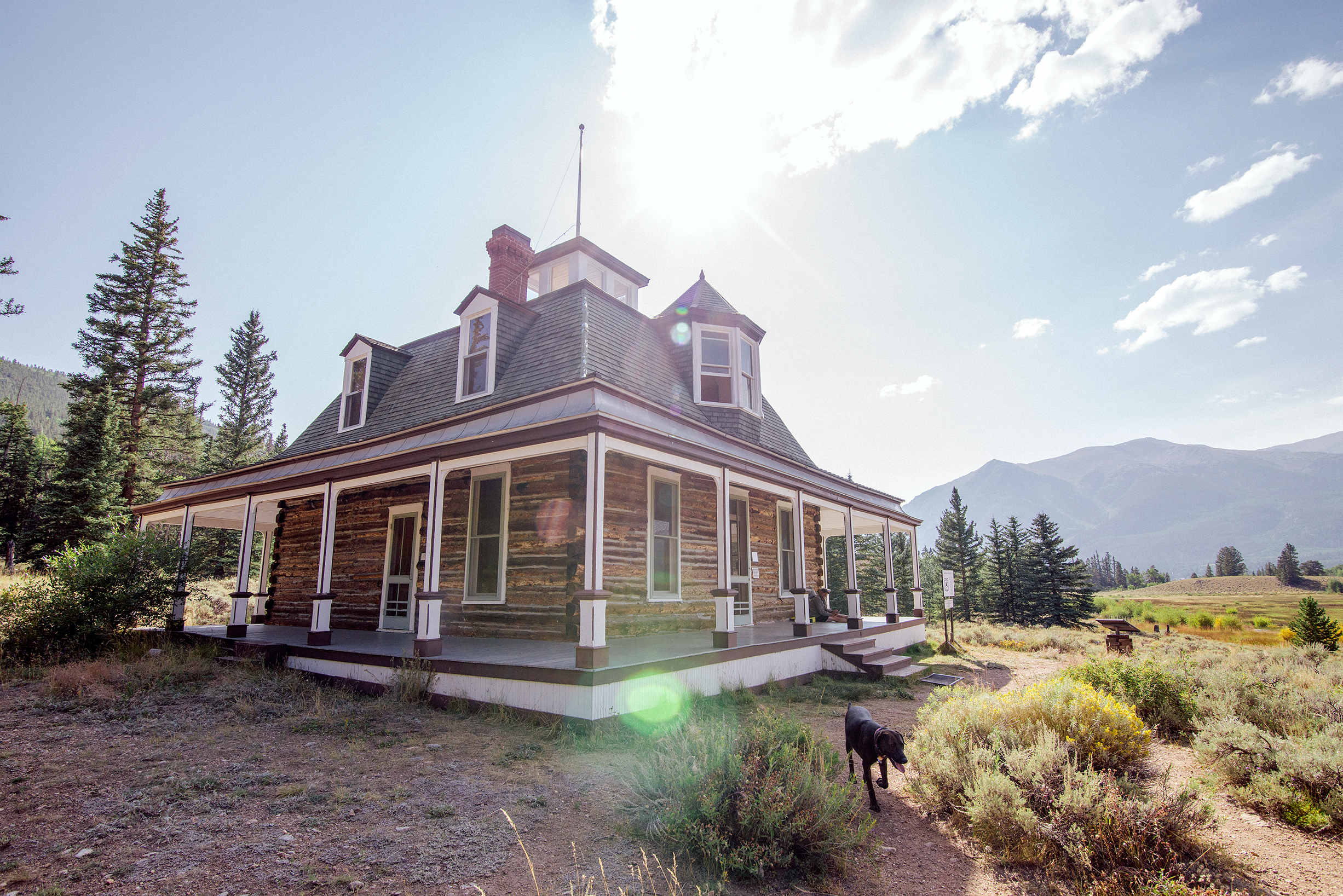Dexter House at Interlake Historic District, Twin Lakes, Colorado