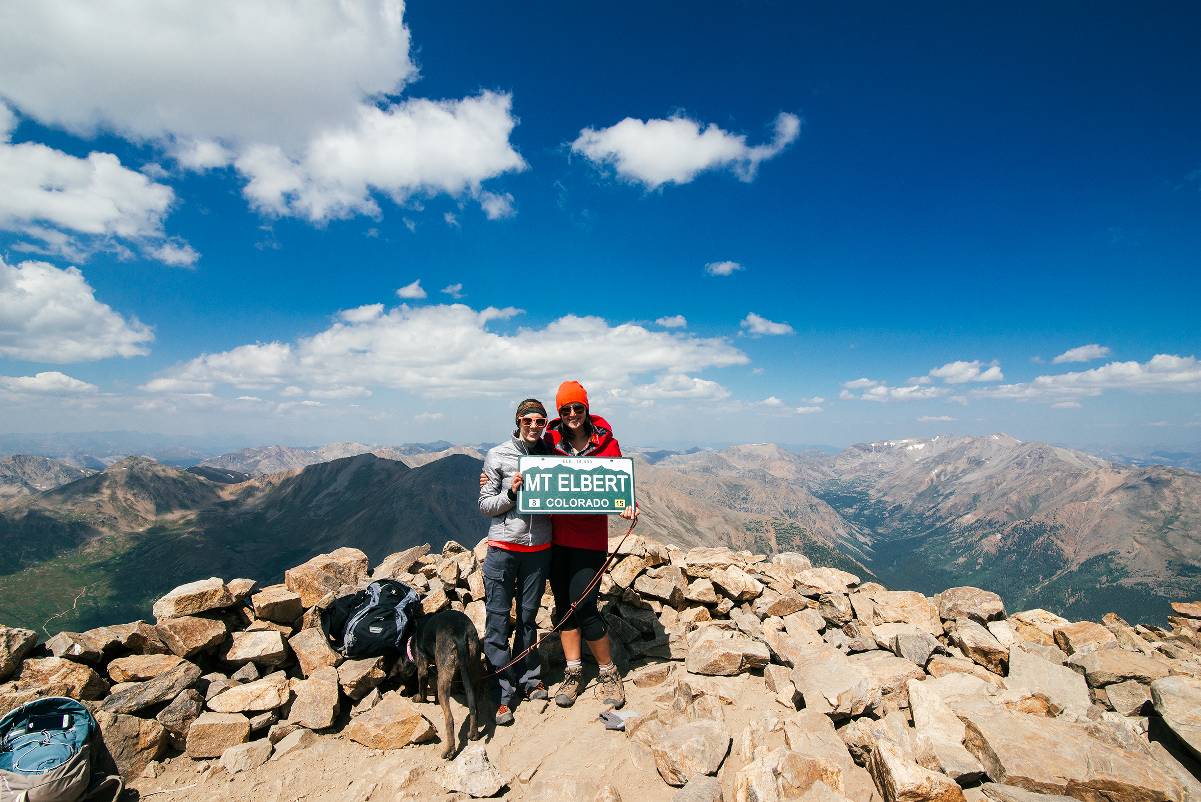 Summit of Mount Elbert