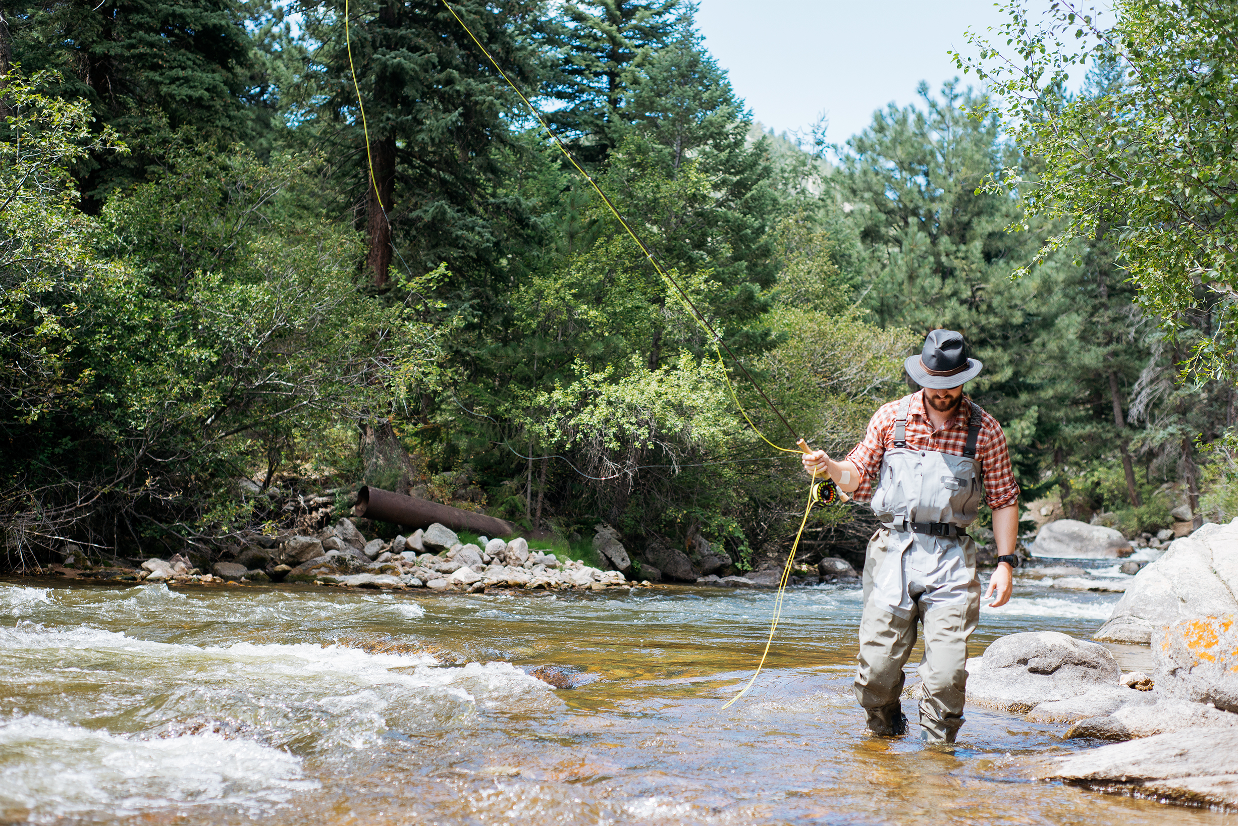 Fly Fishing In South Boulder Creek