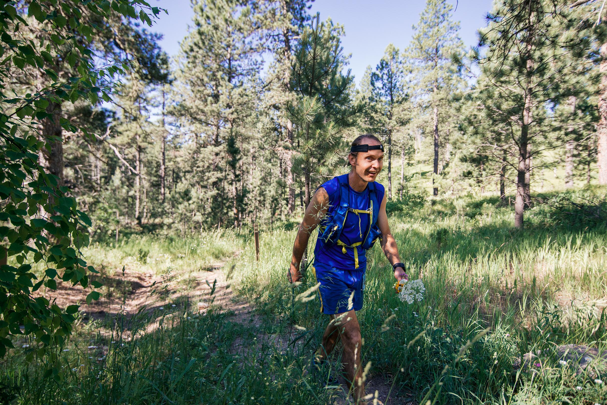 Ultra Marathon Runner - Black Hills 100