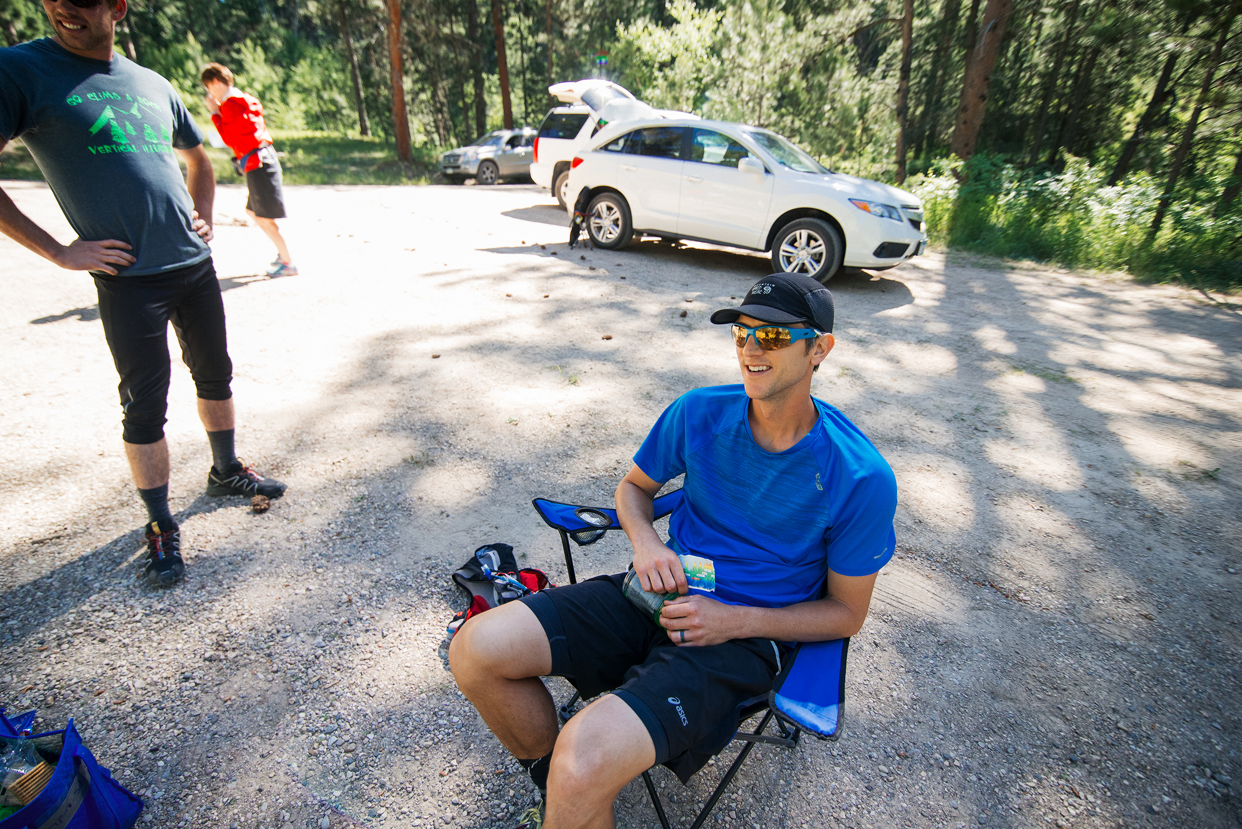 Black Hills 100 - Elk Creek Aid Station