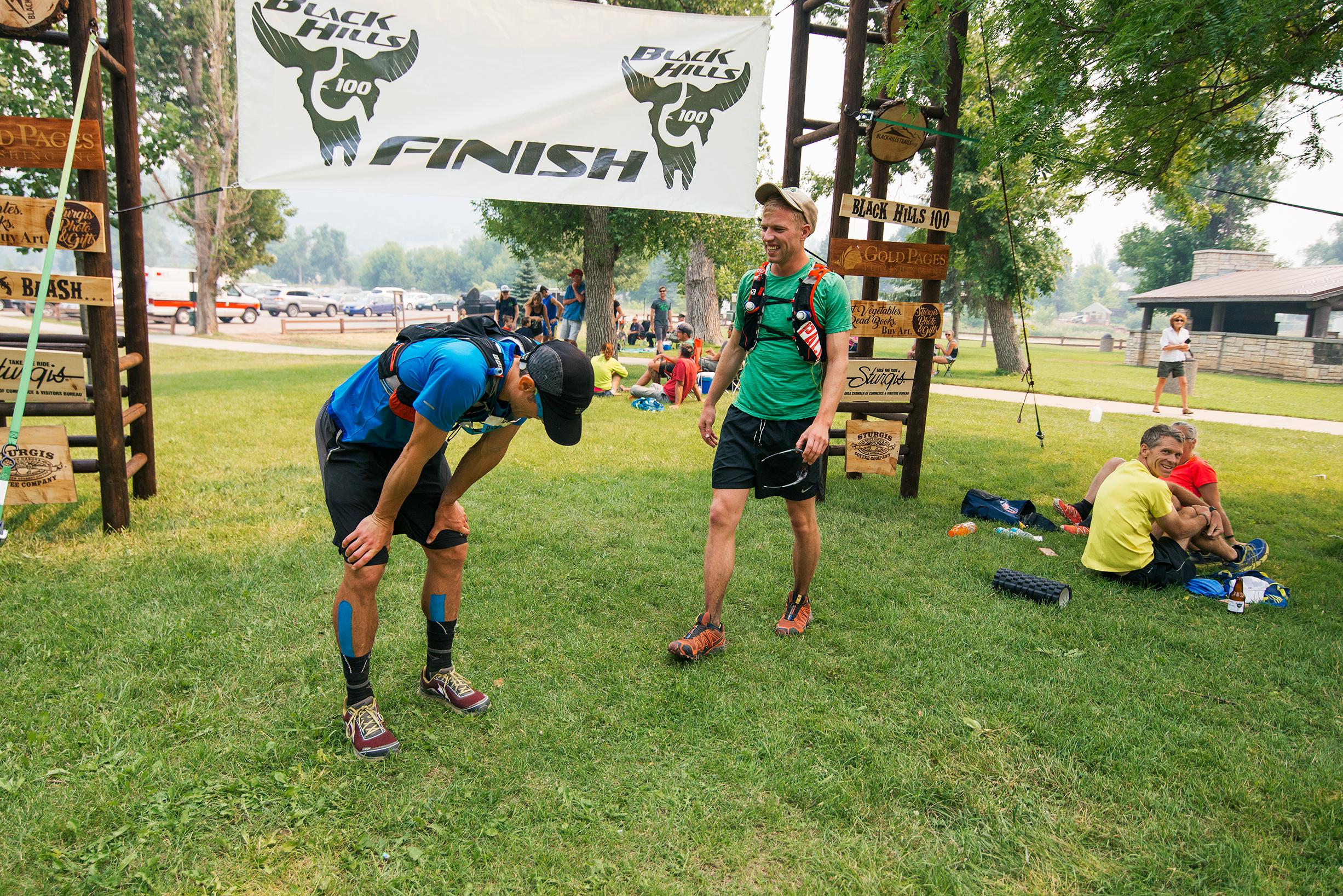Black Hills 100 Finish
