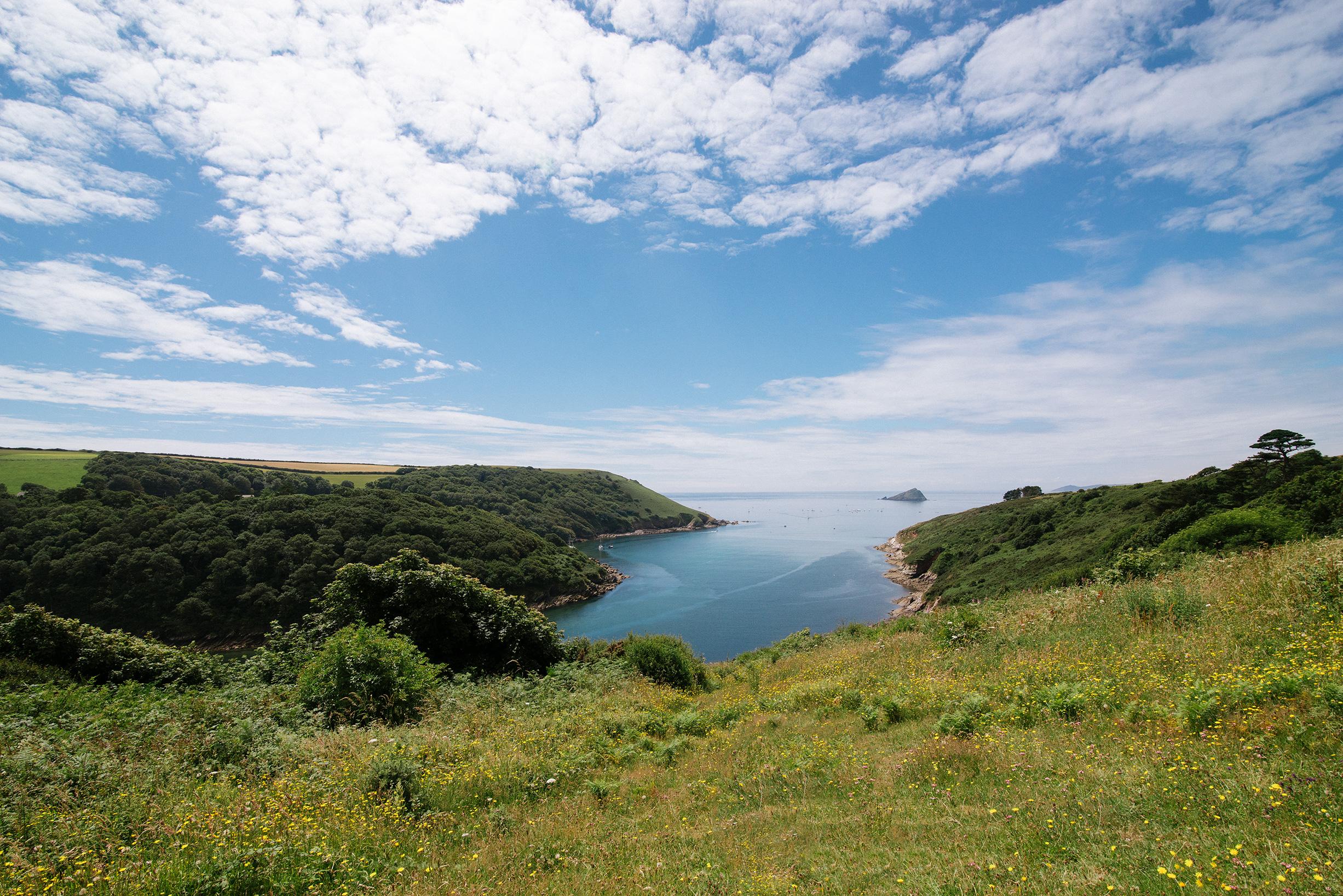Wembury Bay Landscape, UK