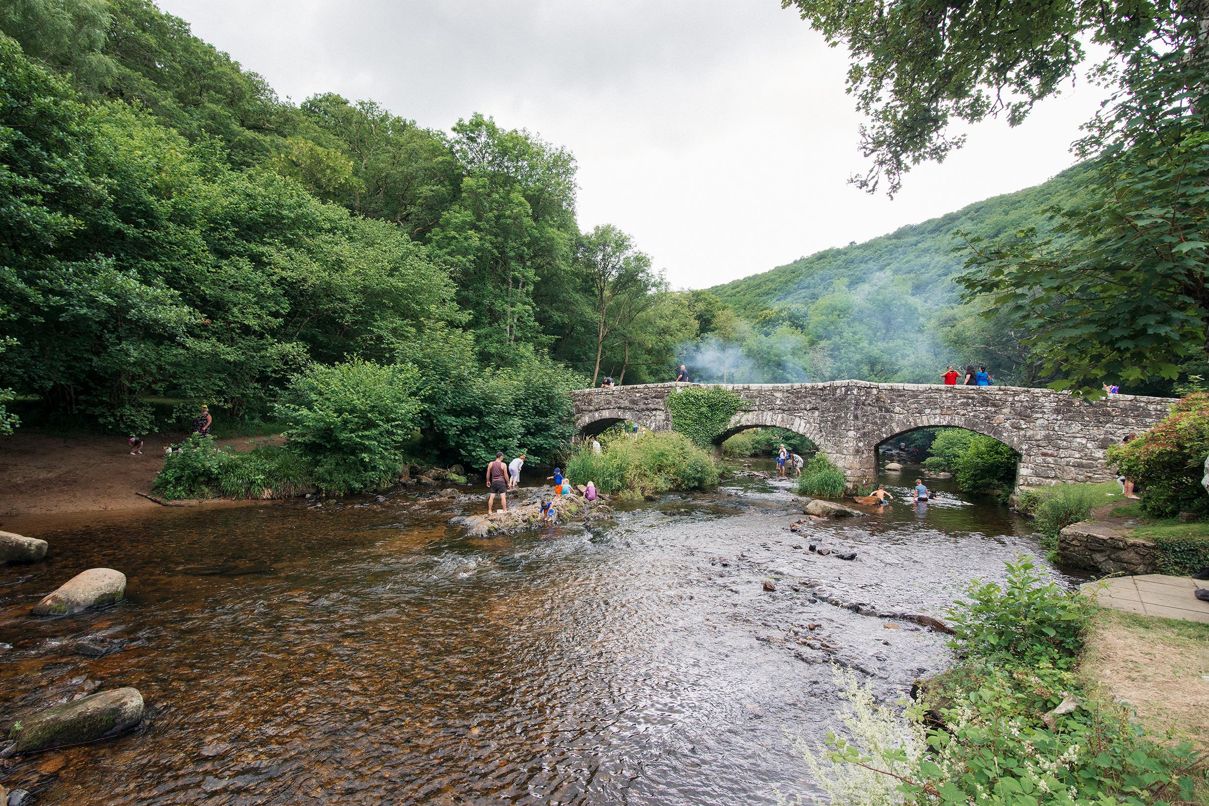 Fingle Bridge