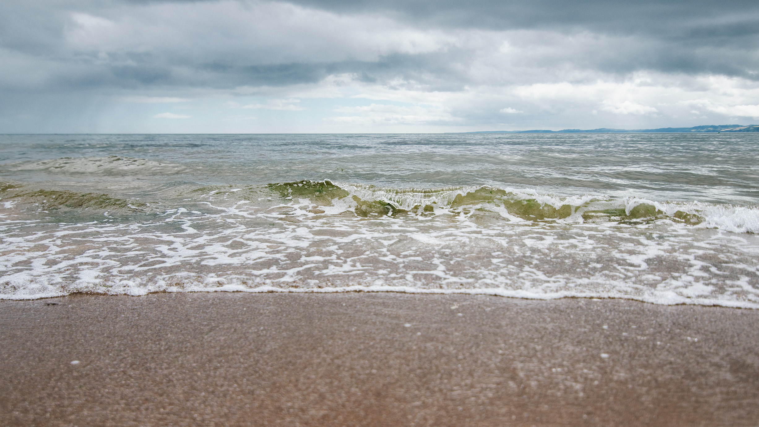 Wave At Exmouth Beach