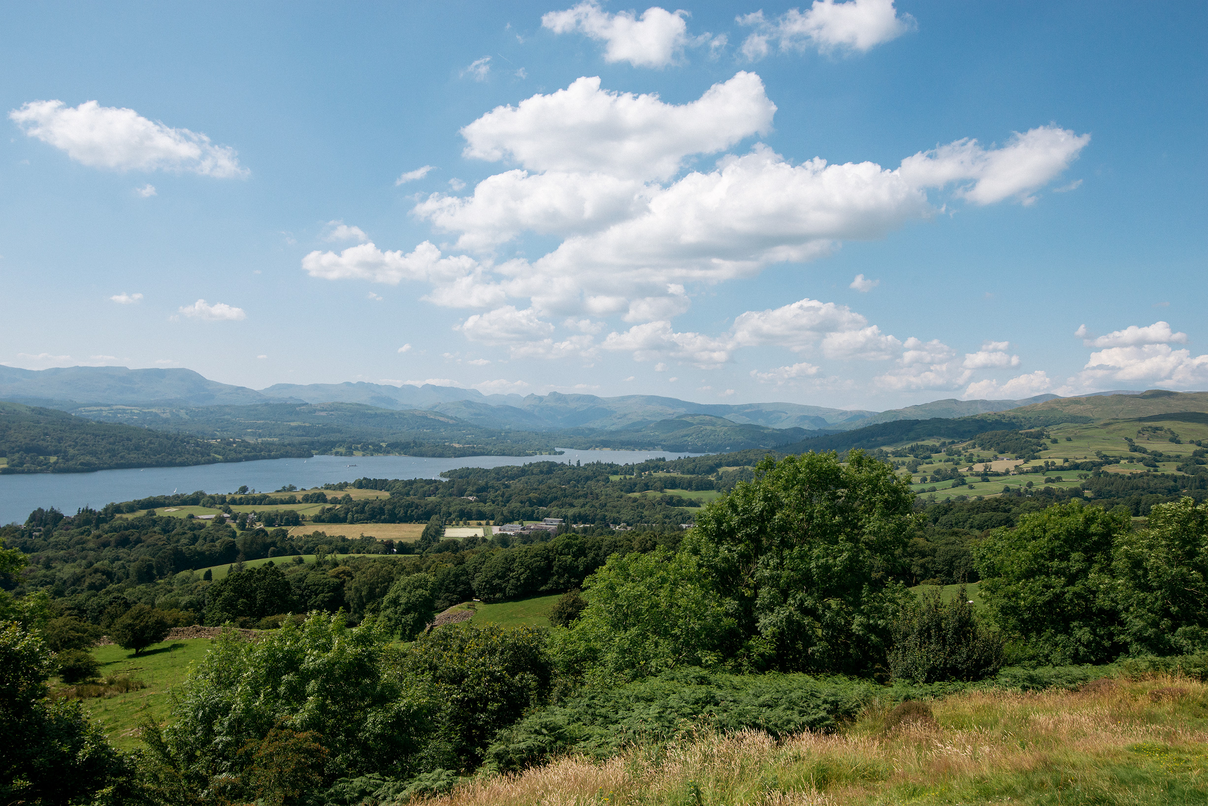 Views of Windermere, Lake District, United Kingdom