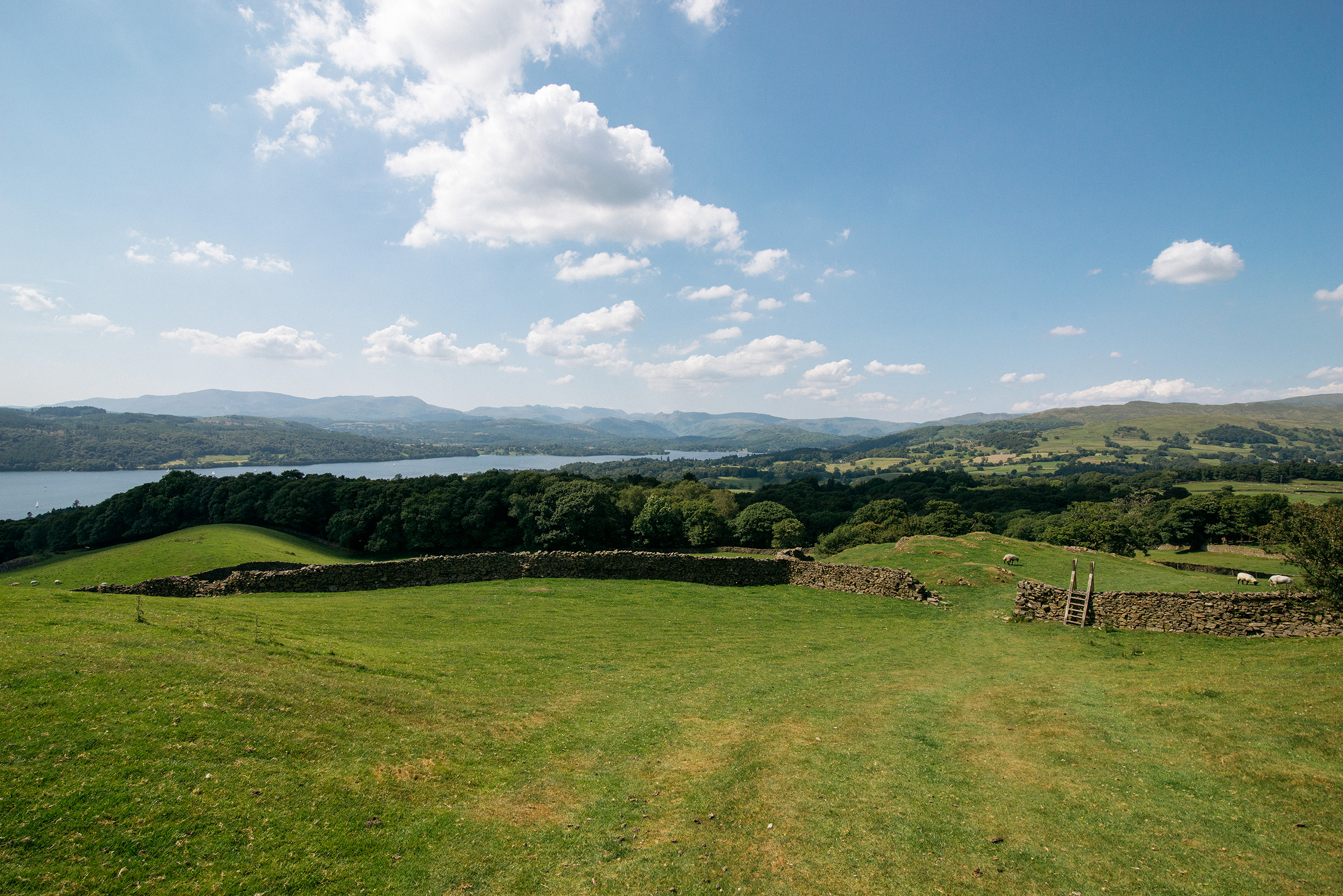 Hiking Private Land in Windermere, Lake District, United Kingdom