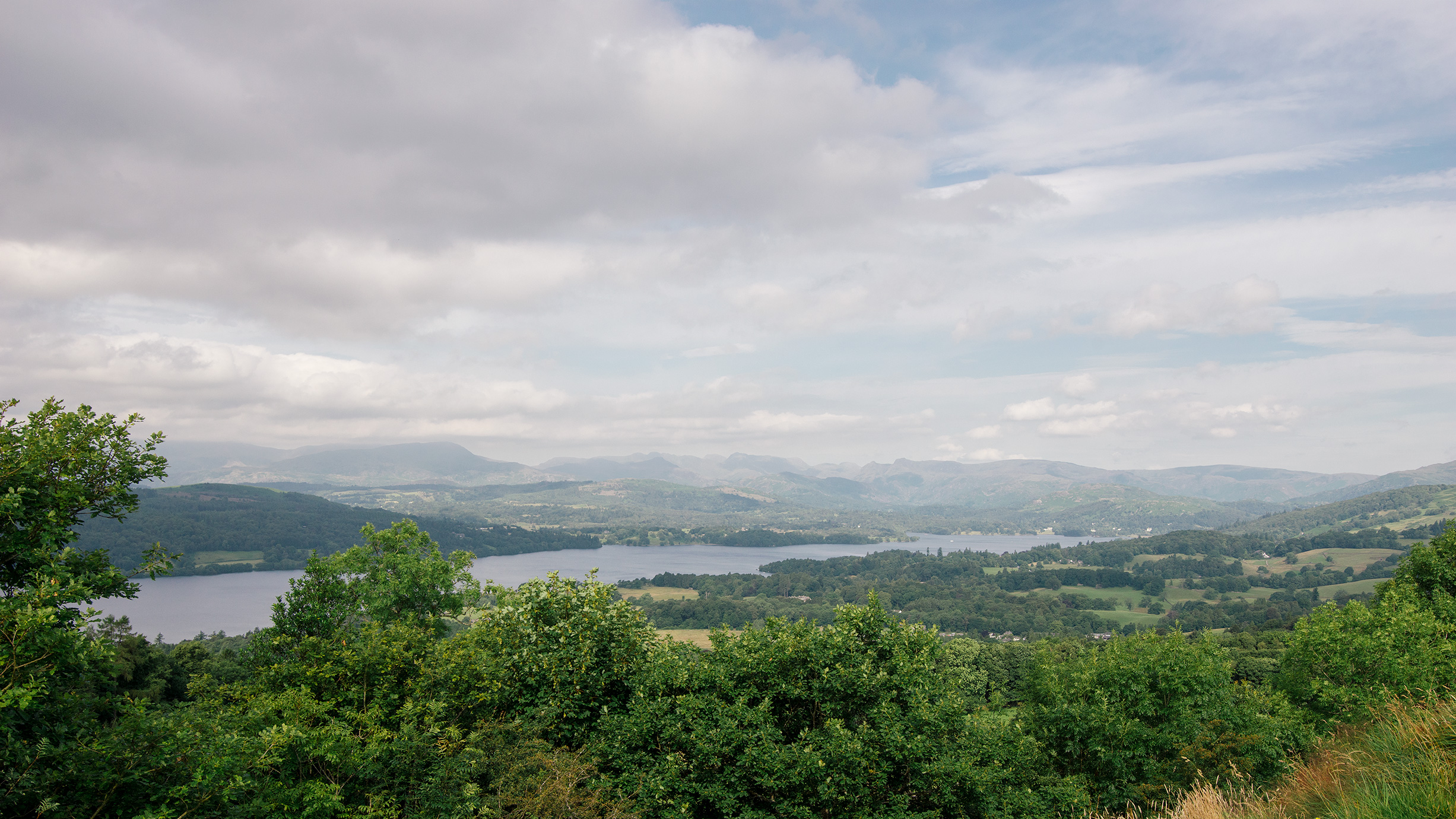 View of Windermere, Lake District, United Kingdom