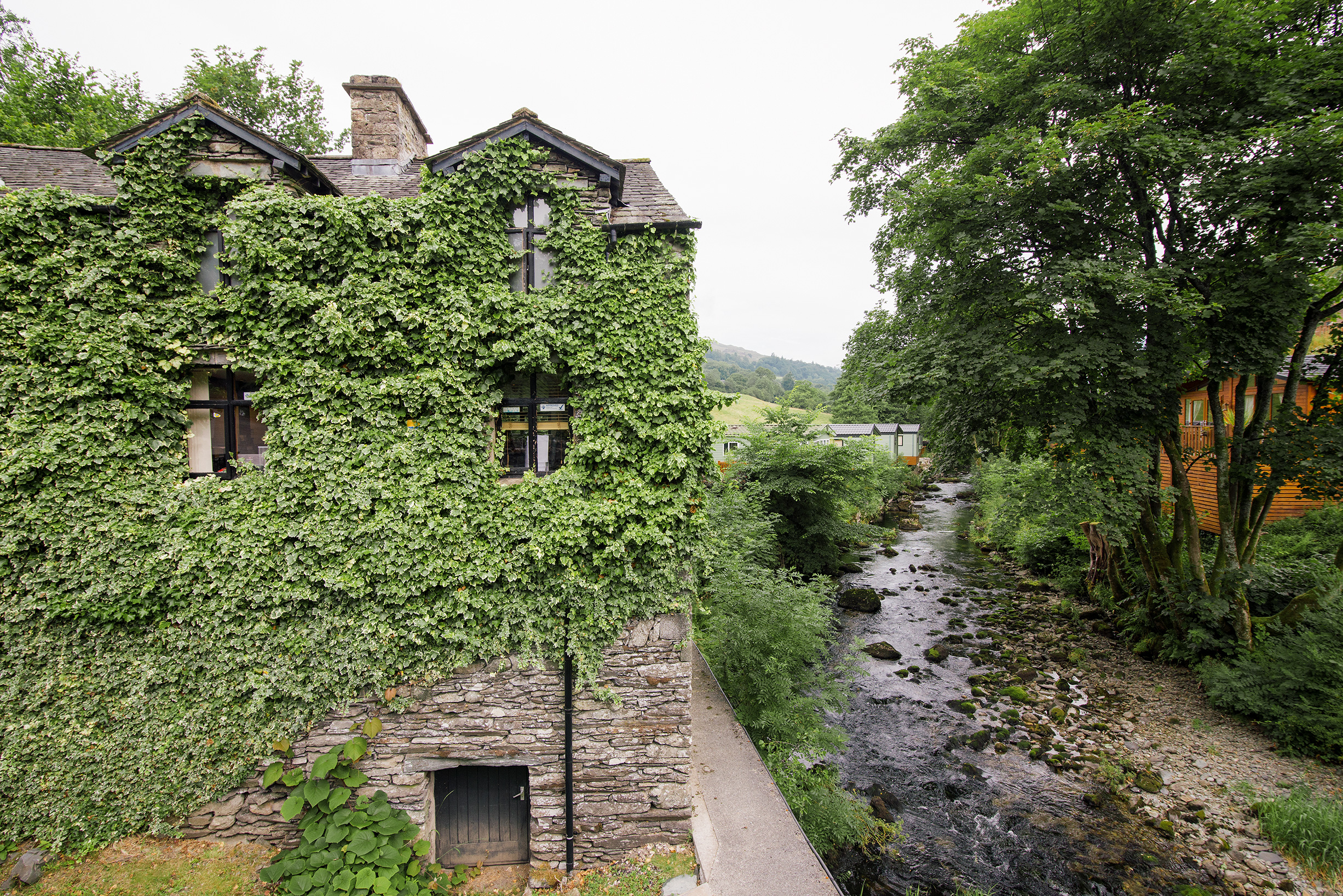 Historic Architecture in Troutbeck, Lake District, United Kingdom