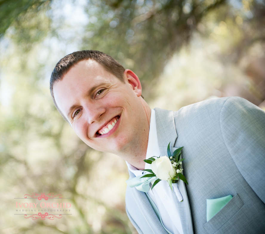 soft light groom photo